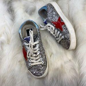 Golden Goose Glitter Sneakers
